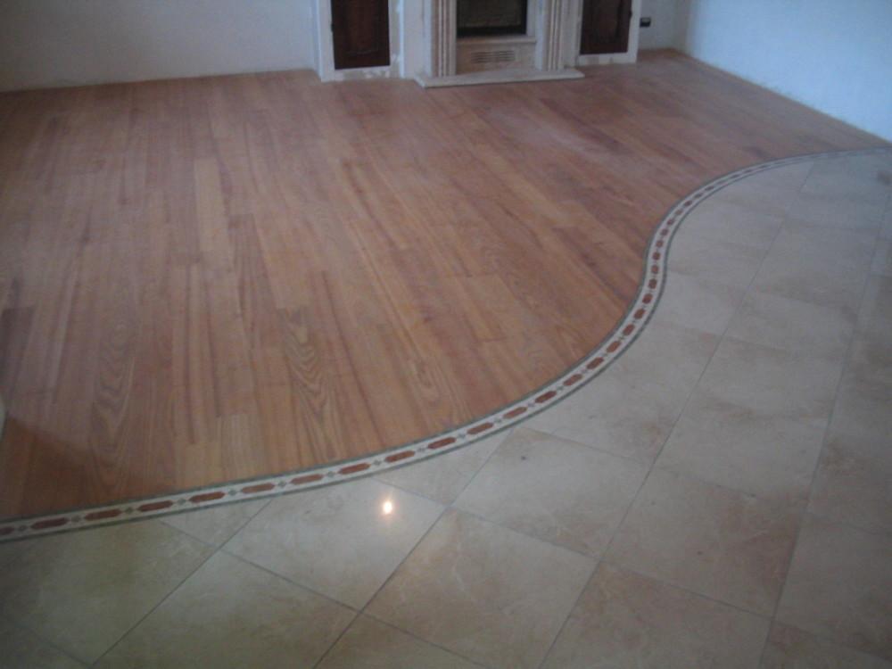 pavimento-legno-inserto-ceramica - Zanfi Pavimenti